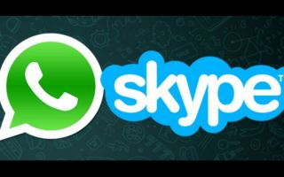 Что лучше Whatsapp или Skype?