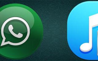 Сохранение и отправка аудио в Whatsapp