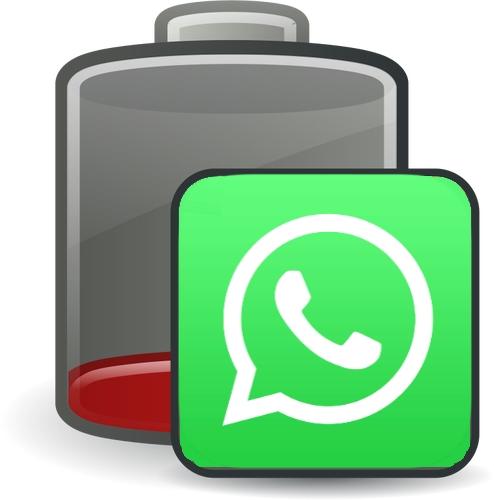 WhatsApp жрет батарею, что делать?
